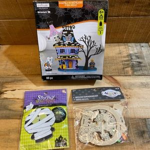5/$15 Halloween Crafts lot of 3